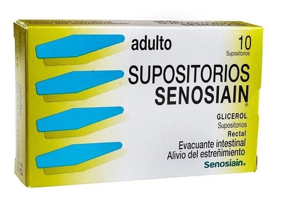 Senosiain Ad 2632 Mg Caja 10 Supositorio