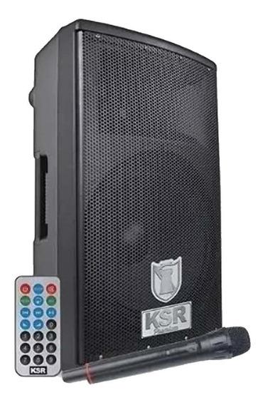 Bafle 15 12000w Pro Recargable Bluetooth Kaiser Microfono