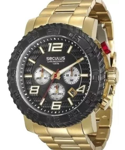 Relógio Masculino Seculus Prime 28674gpsvda1