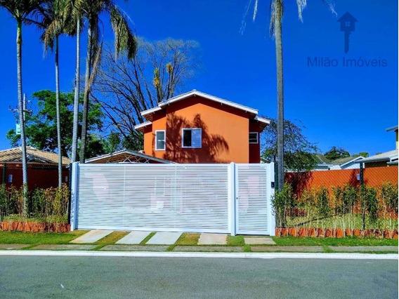 Casa/sobrado 4 Suítes À Venda, 650m², Condomínio Reserva Olga Residencial Clube Em Sorocaba/sp - So0355