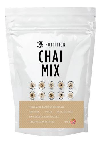Imagen 1 de 1 de Te Chai Mix Puro 100gr Dlk Nutrition
