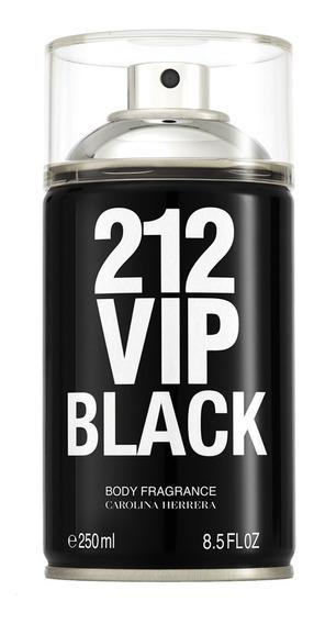212 Vip Men Black Carolina Herrera - Body Spray 250ml