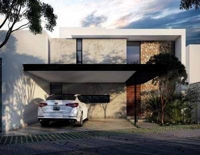 Residencia Nueva En Venta, Privada Astoria, Lote 25, Temozón, Mérida Norte