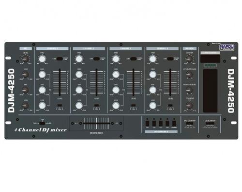 Mixer Super Dj Napoli Djm-4250 4 Canais