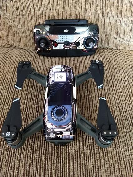 Drone Dji Spark Novinho Com Todos Os Acessórios.