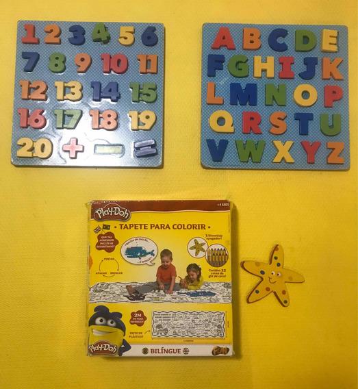 Lote De Brinquedos Pedagógicos