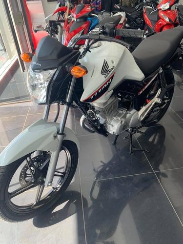 Honda Cg Titan 150 0km Blanca
