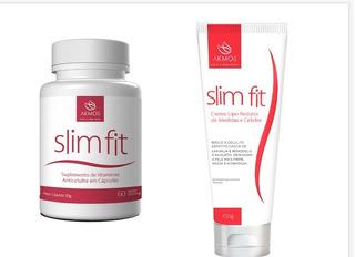 01 Slim Fit Cáp 01 Slim Creme Lipo Redutor De Medidas Akmos