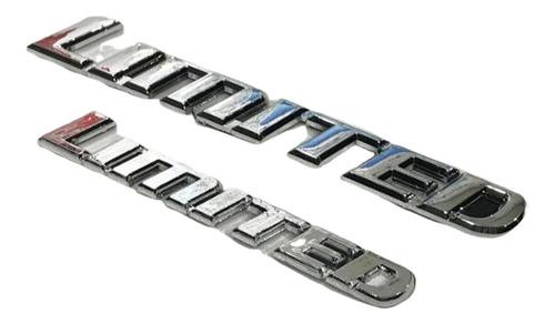 Imagen 1 de 7 de Sticker Adhesivo Insignia Limited Tuning Auto .x1 Chica L114
