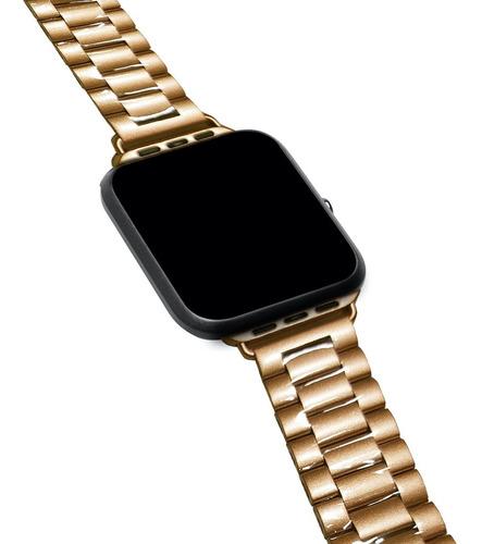 1 Pulsera De Metal Compatible Con Apple Watch