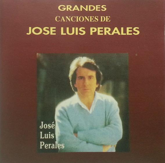 Jose Luis Perales Cd Grandes Canciones 1975 Made In Canada+