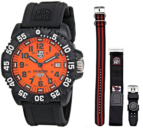 Relógio Luminox Swiss Scott Cassel 3059.set