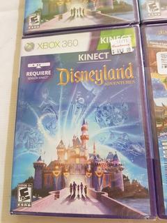 Disneyland Adventures Kinect Xbox 360 Nuevo Sellado.