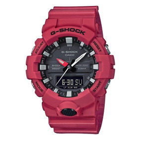 Relógio Masculino Casio G-shock Ga8004adr - Vermelho