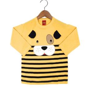 Camiseta Infantil Lote De Menino 4 Peças
