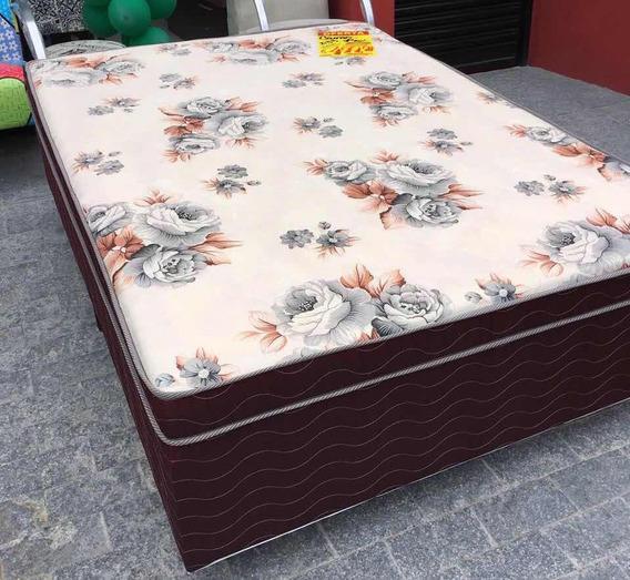 Cama Box + Cabeceira Com 2 Criado Mudo E Móveis Em Geral