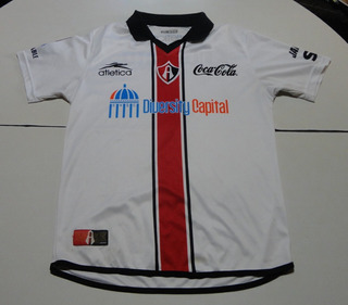 Camiseta De Atlas De México Marca Atlética Blanca, Talle S