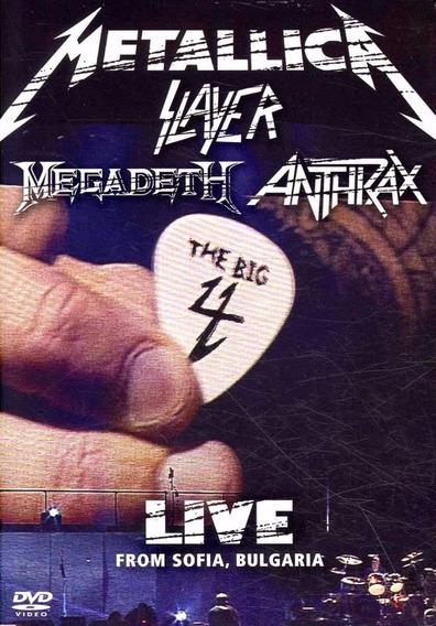 The Big Four (digipack) Metallica - Slayer - Anthrax (f) P
