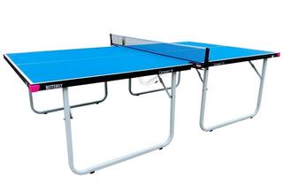 Mesa De Ping Pong Butterfly Compact 19 Azul