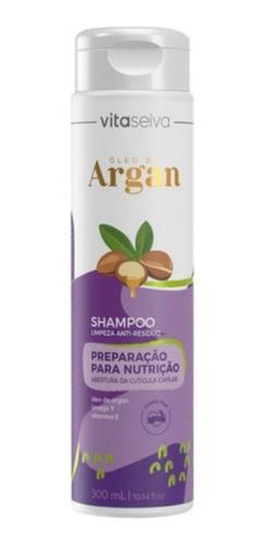 Imagem 1 de 1 de Shampoo Limpeza Nutritivo Oleo De Argan 300ml