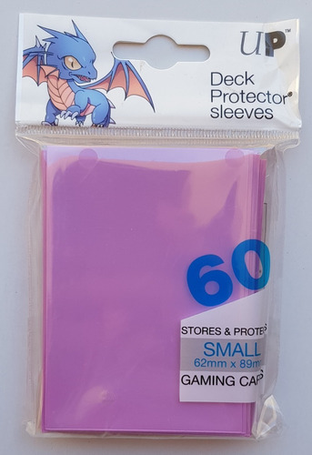 Micas Ultra Pro Small Deck Protector Light Pink - Rosa