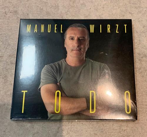 Manuel Wirzt, Todo, Cd, Nuevo