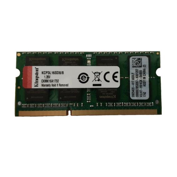 Memória RAM 8GB 2x4GB Kingston KCP3L16SD8/8