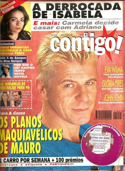 Revista Contigo 1041/95 - Eva Wilma/claudia Ohana/glória Pir