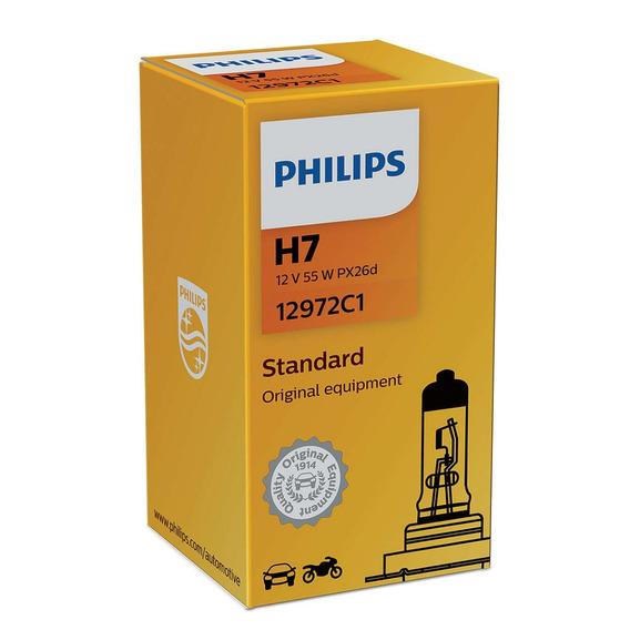 Lâmpada H7 12v 55w Philips Ph12972 Original (valor Unitario)