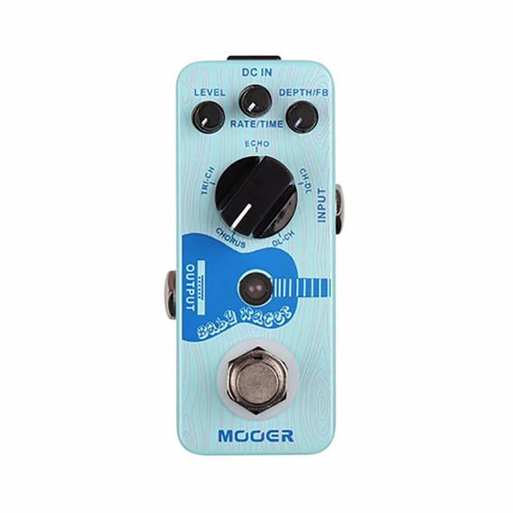 Pedal Mooer Baby Water Chorus Delay P/ Acustico - Envio 24 H