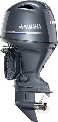 Imagem 1 de 4 de Motor Yamaha Fl 115hp Extra Longa N Mercury Poddium Náutica