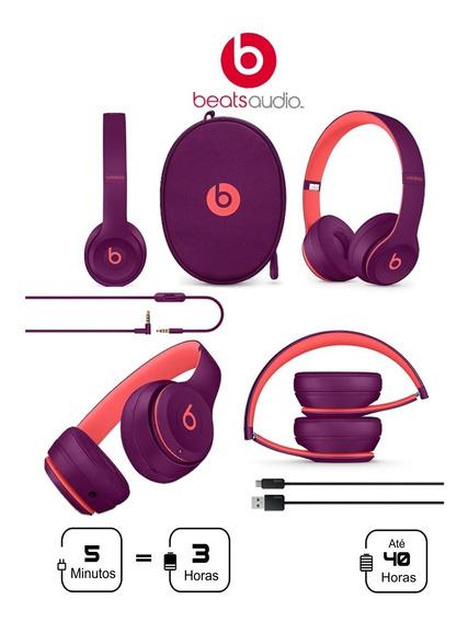 Beats Solo3 Wireless Pop Collection (cor Magenta) Lacrado