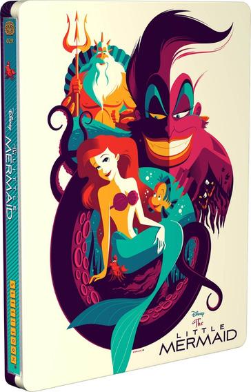 La Sirenita Bluray En Steelbook Edicion Limitada