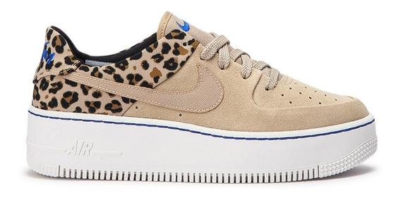 Nike Air Force 1 Sage Low Premium ¨safari¨natural