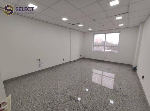 Sala, 25 M² - Venda Por R$ 194.000,00 Ou Aluguel Por R$ 1.300,00/mês - Baeta Neves - São Bernardo Do Campo/sp - Sa0063