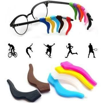 Trava Óculos Colorido 3 Pares Frete Grátis