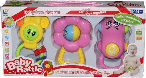 Pelota Sonajero Para Bebes Juguete Baoli Toys