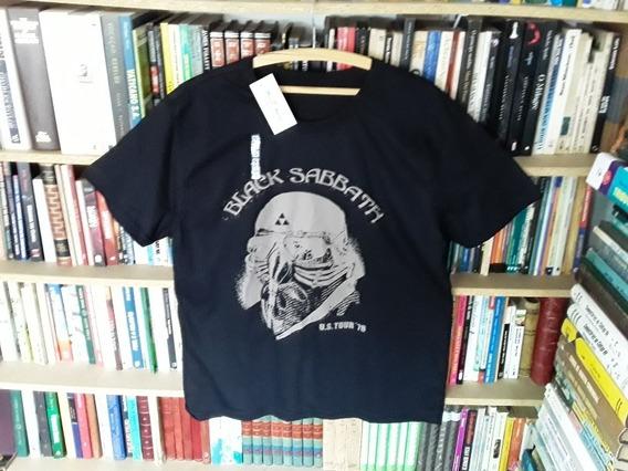 Camiseta Black Sabbath Tamanho G