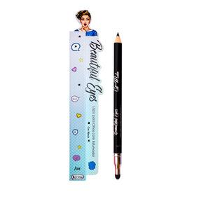 Lápis Para Olhos Com Esfumador Preto - Cat Make