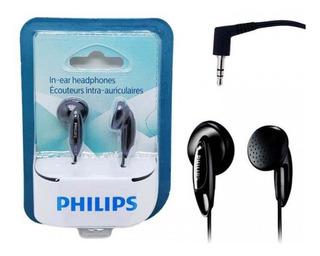 Fone De Ouvido Original Phillips P2 Mp3 Mp4 Qualidade Bass