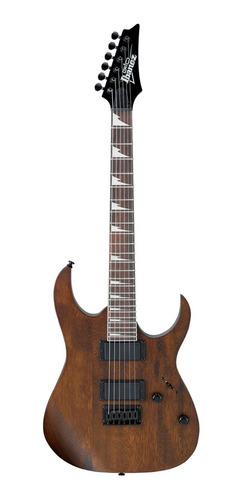 Guitarra Ibanez Grg121 Dx Wnf Walnut Flat