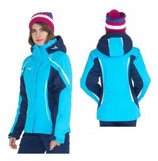 Campera Nieve Niñas Mujer Ski Snowboard Entallada Jeans710
