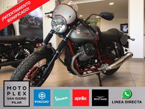 Moto Guzzi V7 Racer 750i Abs 2017 Motoplex Anticipo Y Cuotas