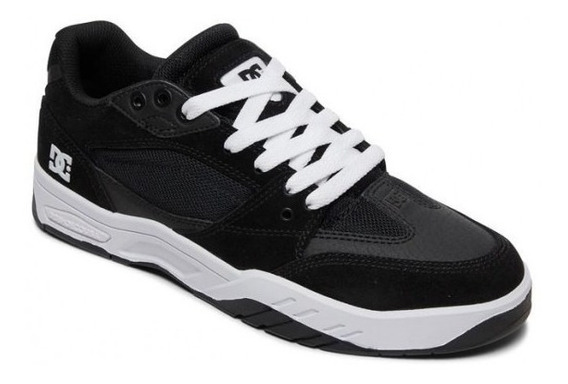 Zapatillas Dc Shoes Mod Maswell Negro Blanco Nueva Coleccion