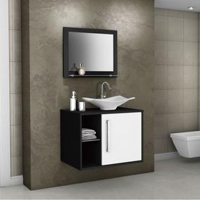 Gabinete Para Banheiro Com Cuba E Espelheira Baden Ijwt