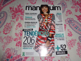 Revista Manequim Maria Casadevall