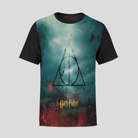Camiseta Unissex Harry Potter Hogwarts Bruxo