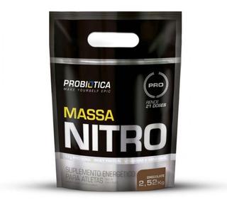 Massa Nitro No2 2,5kg Probiotica Todos Os Sabores