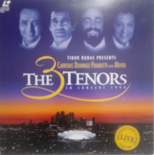 Laserdisc - Carreras, Domigos, Pavarotti - The 3 Tenors
