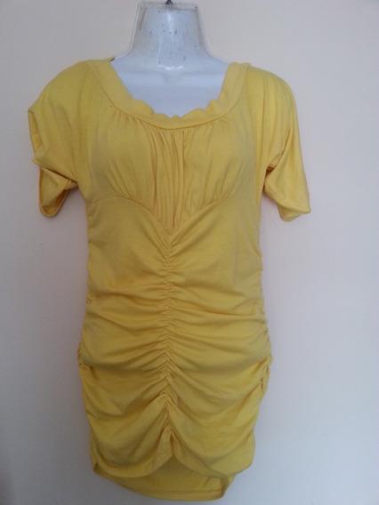 Blusa Amarilla Para Dama Talla M